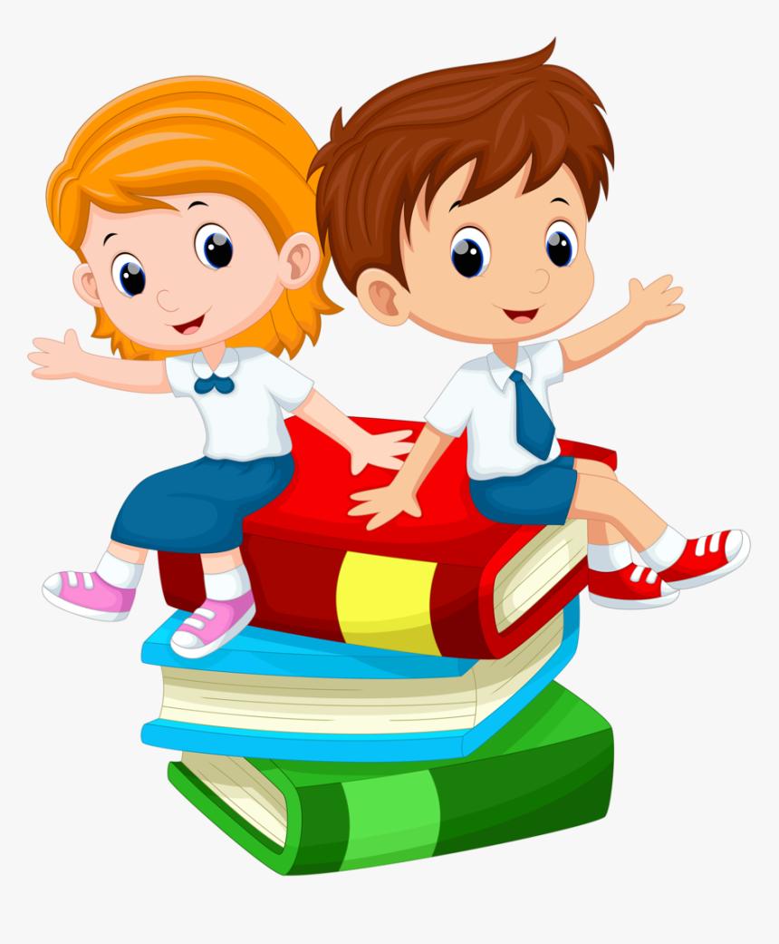 Kids Cartoon Student Free Download Png Hq Clipart School Kids