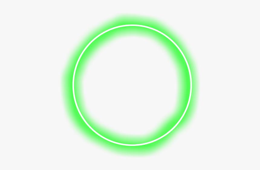 Circle Neon Green Aesthetic Circle Hd Png Download Kindpng
