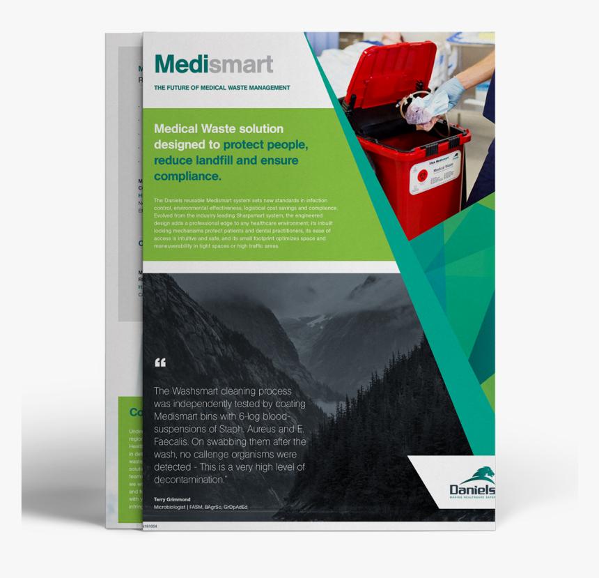Medical Waste Management Brochure, HD Png Download, Free Download
