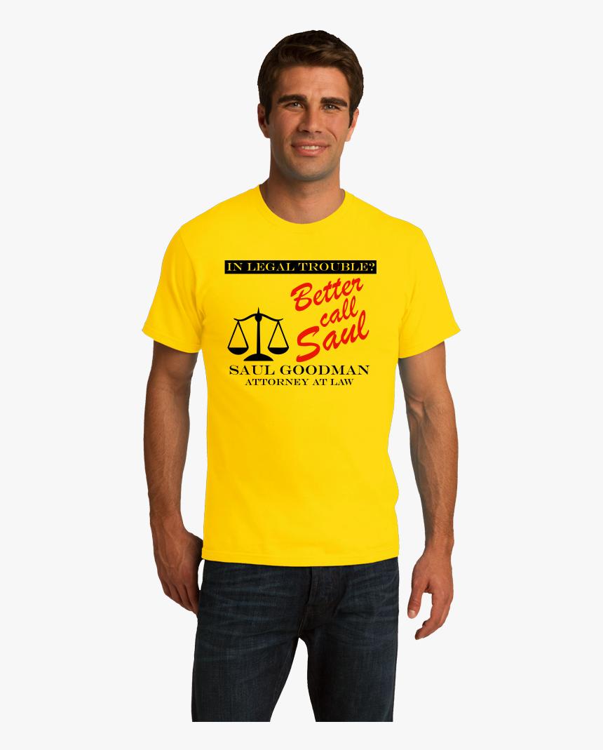 Standard Yellow Better Call Saul - Pedobear T Shirt, HD Png Download, Free Download