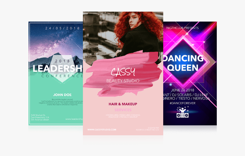 Design Flyer, Poster, Banner, Leaflet, Anything You - Flyer Design, HD Png Download, Free Download