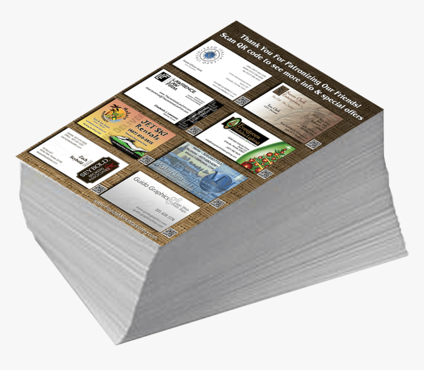 Printed Flyers Png, Transparent Png, Free Download