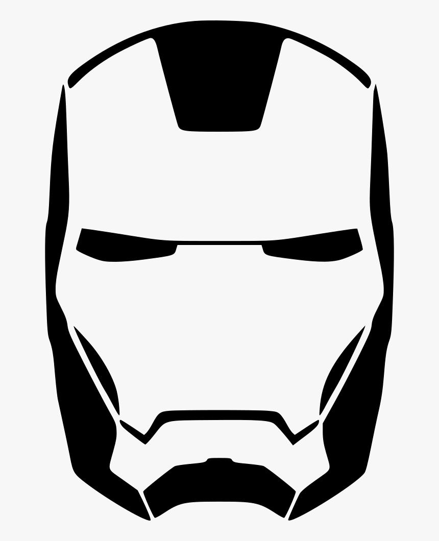 Iron Man Skin Face - Iron Man Mask Png, Transparent Png, Free Download