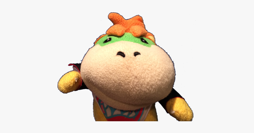 Bowser Junior Plush Png Junior Sml Bowser Jr Transparent