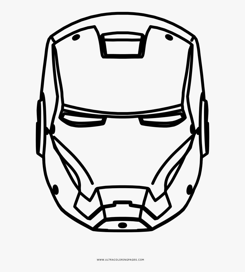 Iron Man Coloring Page - Iron Man Coloring Page Symbol, HD Png Download, Free Download