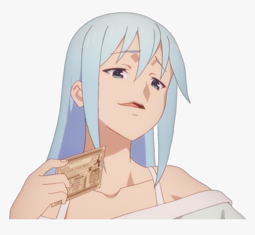 Transparent Smug Anime Girl, HD Png Download, Free Download