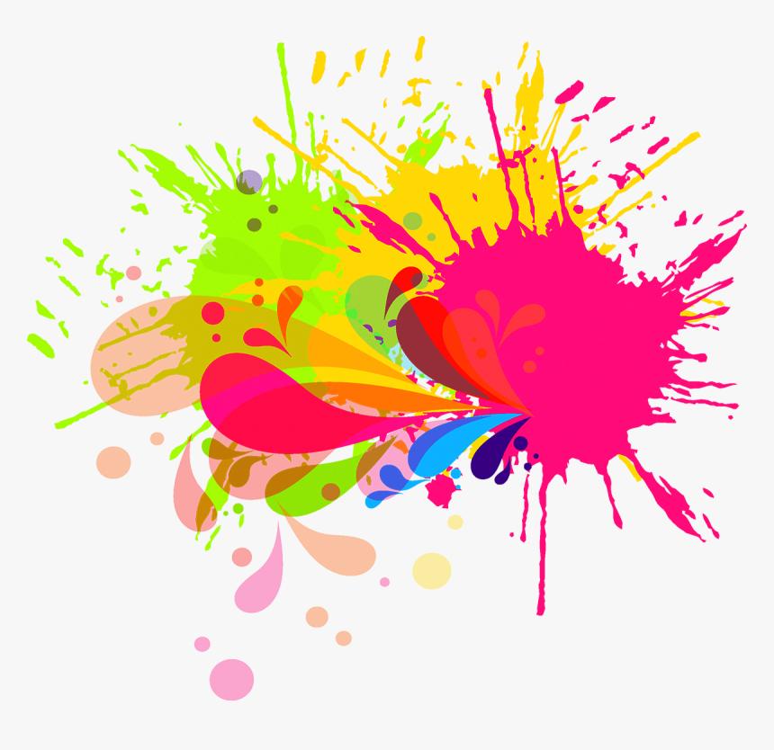 Ink Brush Watercolor Painting - Splash Brush Paint Png, Transparent Png, Free Download