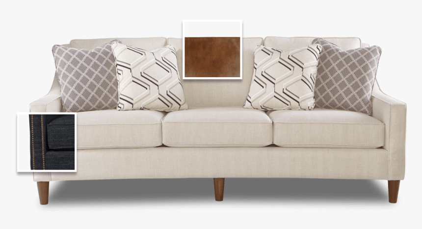 Transparent Modern Sofa Png - Modern Sofa With Cushion Png Hd, Png Download, Free Download