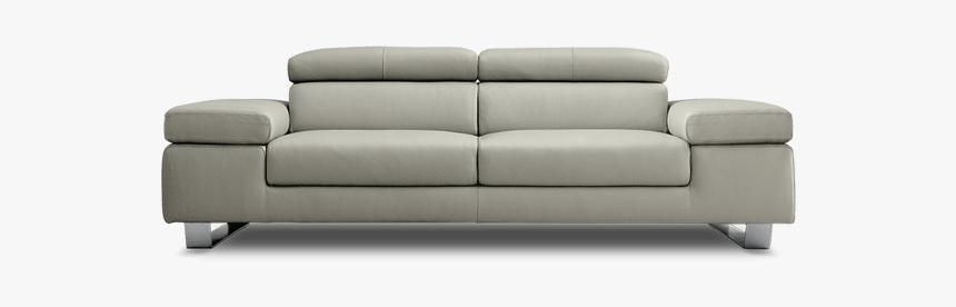 Divano In Pelle Con Recliner.Modern Leather Sofa Divani In Pelle Moderni Hd Png Download