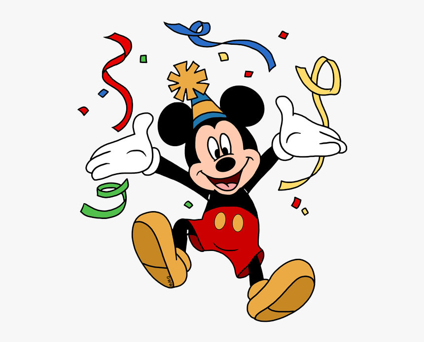 Disney Birthdays And Parties Mickey Mouse Birthday Clipart Hd Png Download Kindpng
