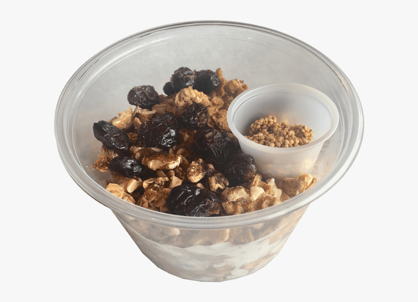 Granola Bowl With Toasted Quinoa Seeds - Muesli, HD Png Download, Free Download