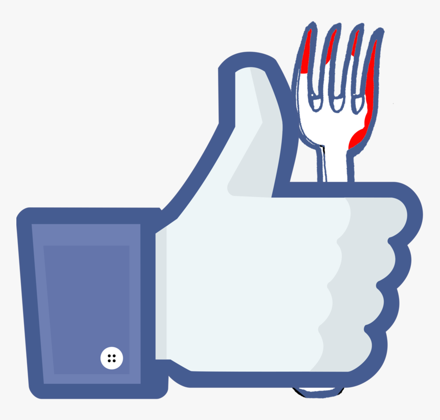 Like Media Button Facebook, Facebook Social Inc - Like Button 3d Png, Transparent Png, Free Download