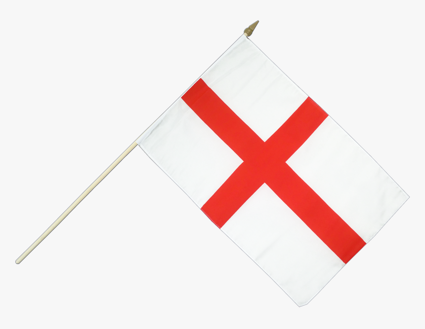 England Flag Png - Hand Waving Flag England, Transparent Png, Free Download