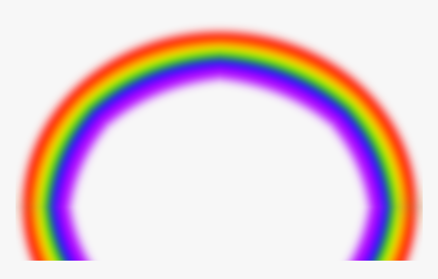 Blurry Rainbow Png 7016 Free Icons And Png Backgrounds - Different Colours Of Rainbow, Transparent Png, Free Download