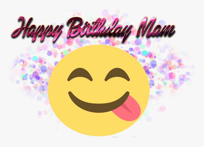 Happy Birthday Mam Png Free Images - Alisa Name, Transparent Png, Free Download