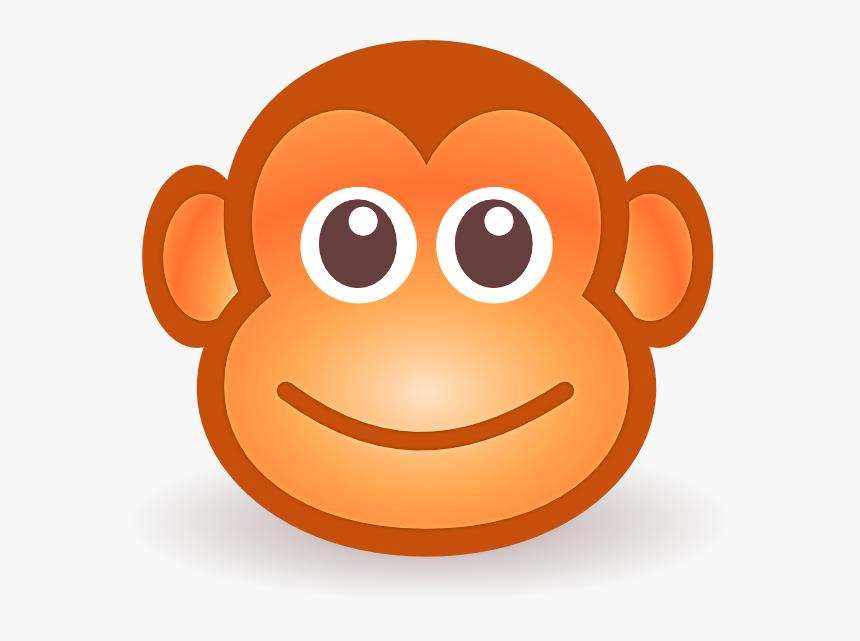 Cartoon Monkey Face Hd Png Download Kindpng