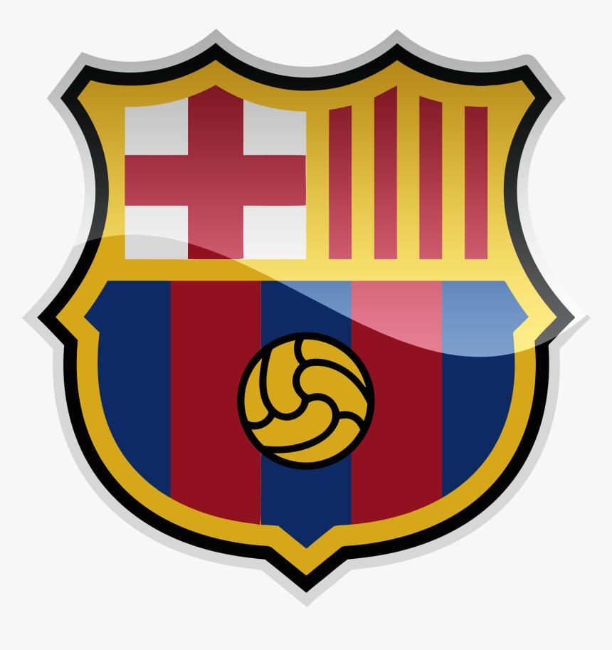 Fc Barcelona Hd Logo Png - Fc Barcelona New Crest, Transparent Png, Free Download