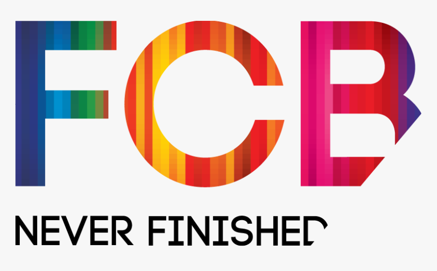 Fcb Never Finished Logo, HD Png Download, Free Download