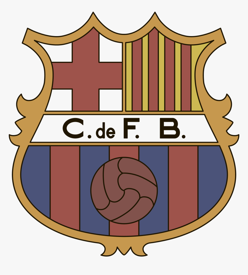 barcelona logo interesting history of the team name fc barcelona 1949 logo png transparent png kindpng fc barcelona 1949 logo png transparent