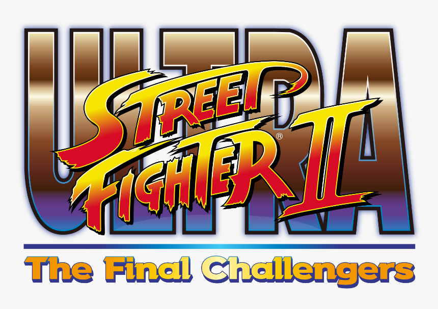 Ultra Street Fighter Ii Switch Logo Ultra Street Fighter Ii Logo Hd Png Download Kindpng