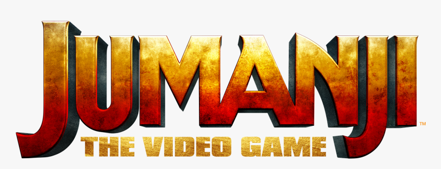 Jumanji The Video Game Logo Eng Poster Hd Png Download Kindpng