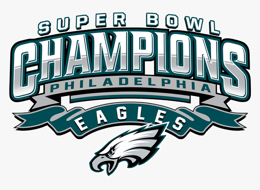 Super Bowl Lii Philadelphia Eagles 2018 Nfl Season - Philadelphia Eagles Super Bowl Logo, HD Png Download, Free Download