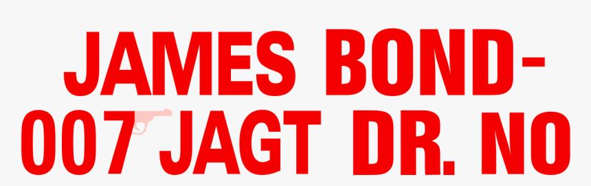James Bond Jagt Dr No, HD Png Download, Free Download