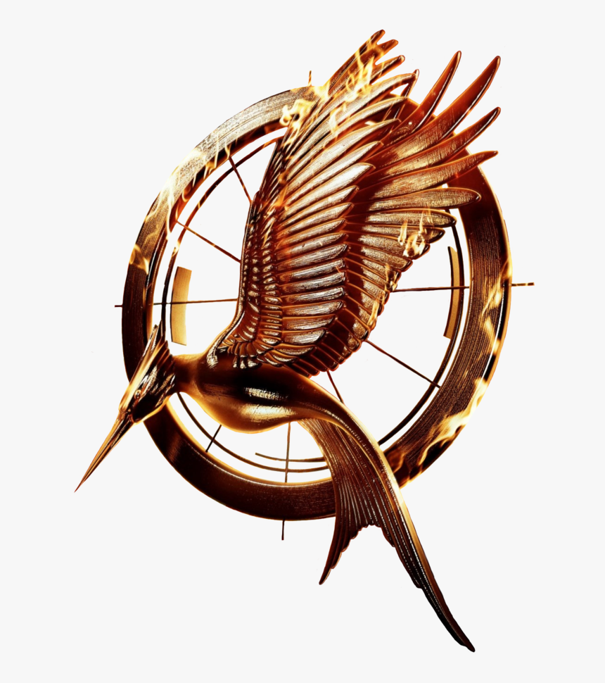 Clipart Rings No Background - Hunger Games Catching Fire Logo, HD Png Download, Free Download