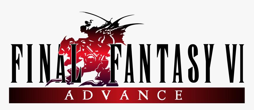 Transparent Final Fantasy Vi Logo Png - Final Fantasy Vi Advance Logo, Png Download, Free Download