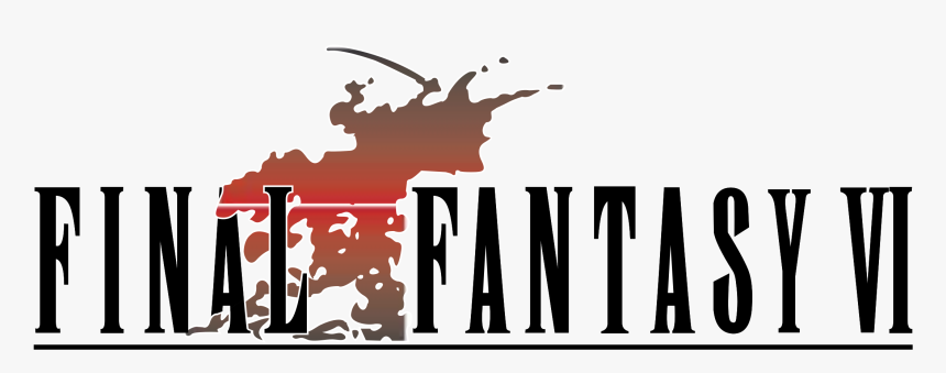 Final Fantasy Vi Logo Png Transparent - Final Fantasy I Logo, Png Download, Free Download