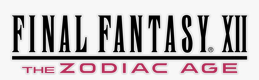 Transparent Final Fantasy Xiii Logo Png - Final Fantasy Xii Logo, Png Download, Free Download