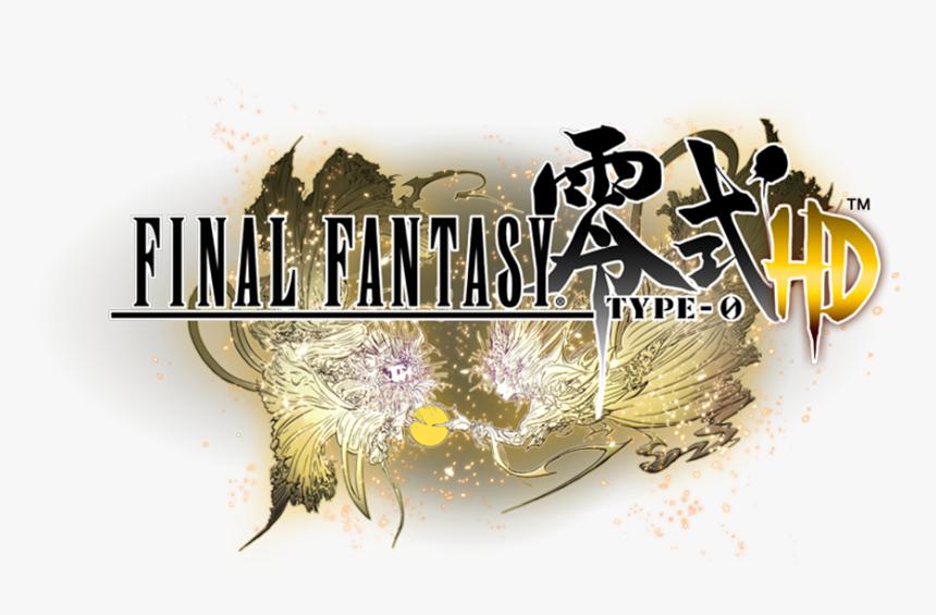 Transparent Final Fantasy 13 Logo Png - Ff Type 0 Logo, Png Download, Free Download