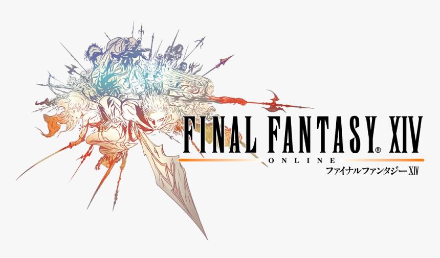 Transparent Final Fantasy 13 Logo Png - Final Fantasy 14 Logo, Png Download, Free Download