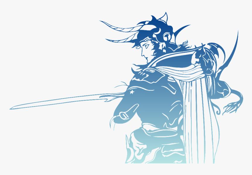 Final Fantasy, Logo, Warrior Of Light - Final Fantasy I Logo, HD Png Download, Free Download