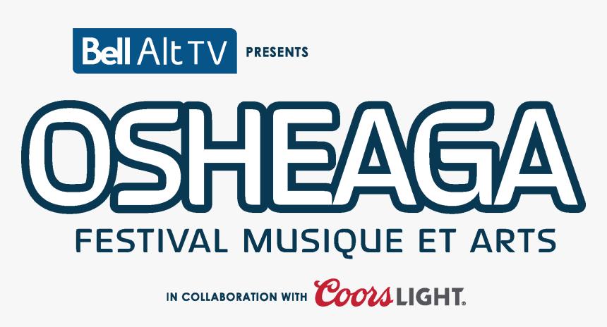Logo Bell Osheaga En - Osheaga Logo, HD Png Download, Free Download