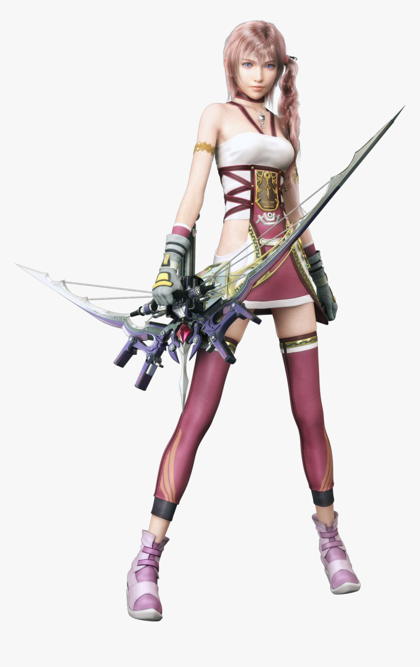 Final Fantasy Xiii-2 - Final Fantasy Characters Girls, HD Png Download, Free Download