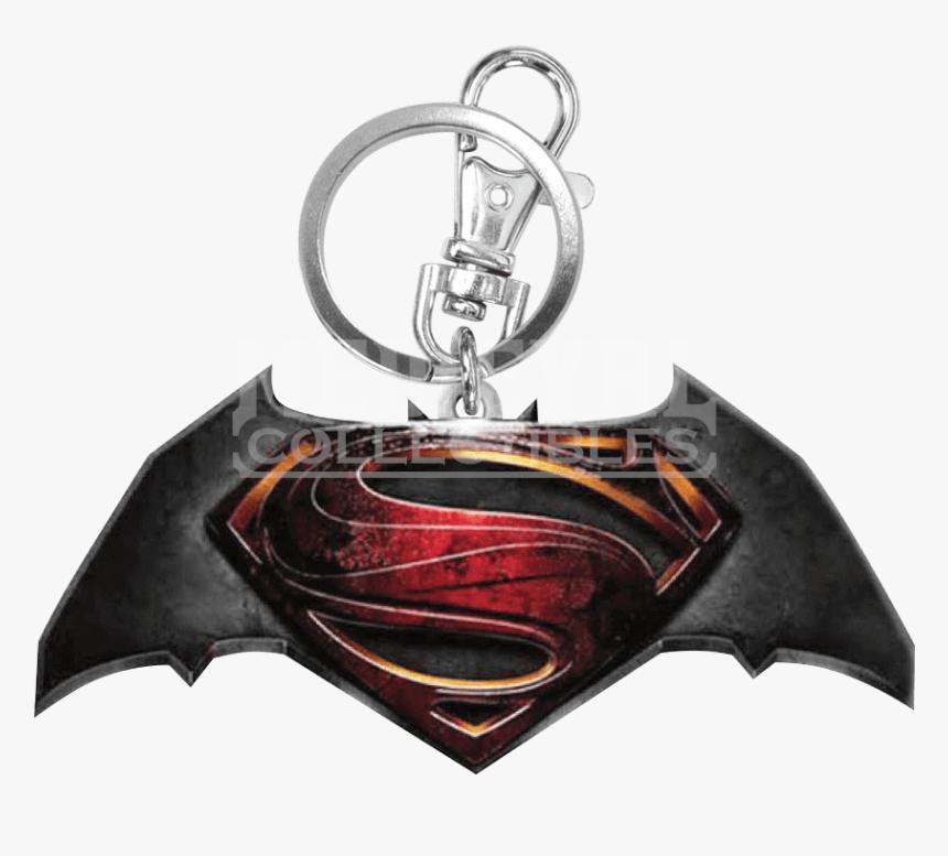 Colored Batman V Superman Keychain - Batman V Superman: Dawn Of Justice, HD Png Download, Free Download