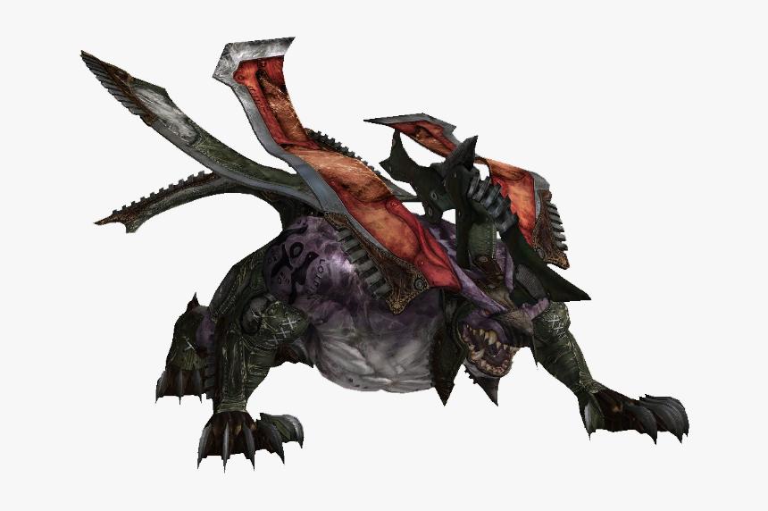 Final Fantasy Behemoth Versions, HD Png Download, Free Download