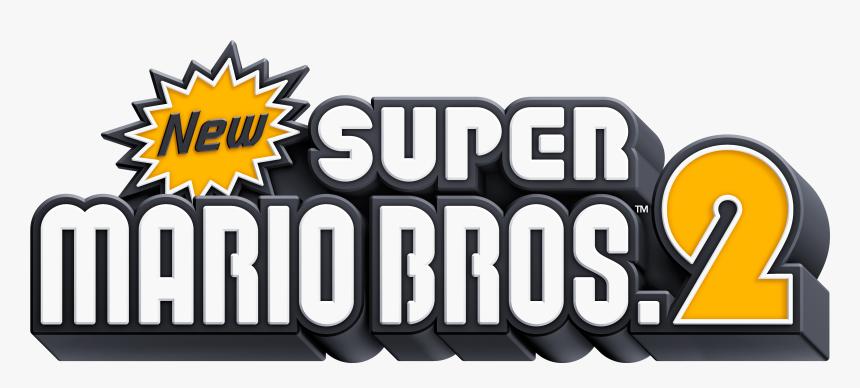 Logopedia10 New Super Mario Bros 2 Logo Hd Png Download Kindpng