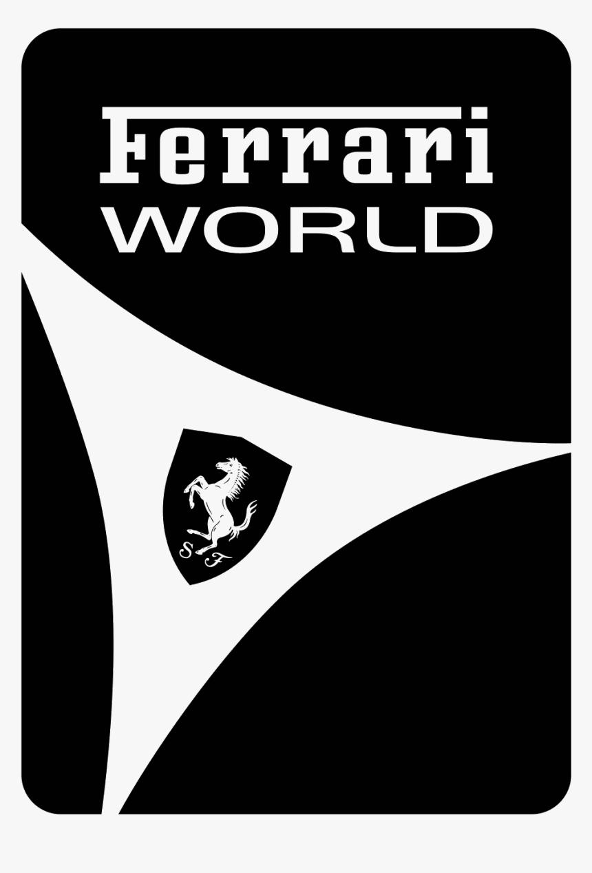 Ferrari Logo Png Ferrari Font Hd White Transparent Png Kindpng