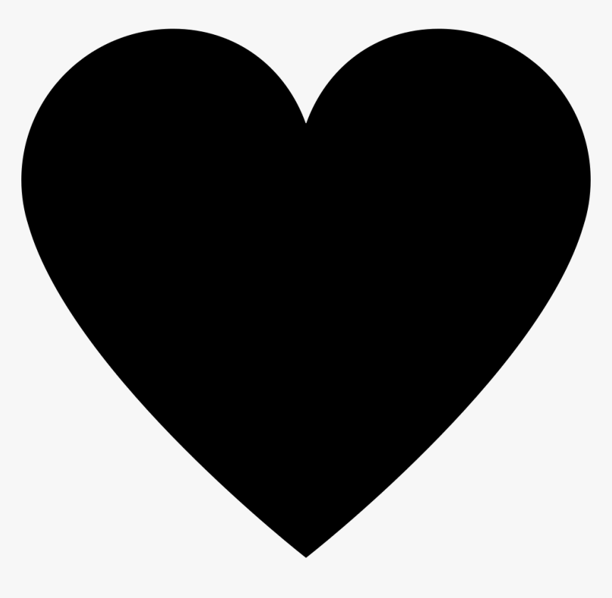 Heart,black,love,black And White,heart,clip Art,organ,line,human - Heart Icon Svg, HD Png Download, Free Download