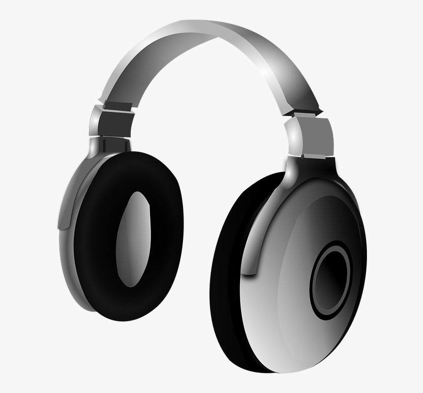 Headphone Head Phones 555px - Basic Vs Applied Research Examples, HD Png Download, Free Download