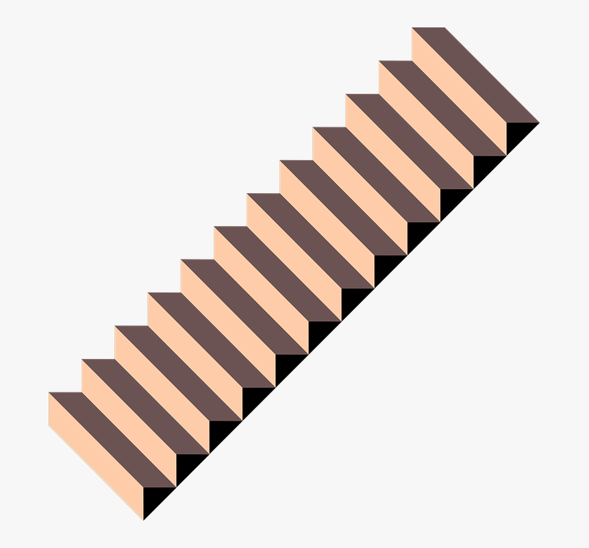 Collection Of Stairs Cartoon Flight Of Stairs Hd Png Download Kindpng