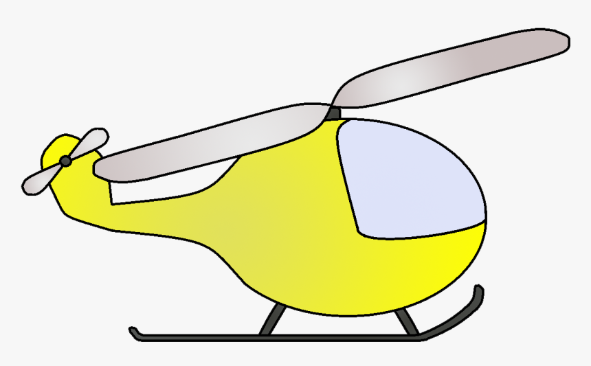 Transparent Helicopter Clipart - Helicopters Transparent Image Cartoon, HD Png Download, Free Download