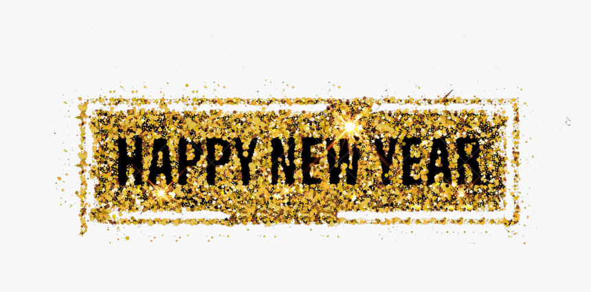 Happy,new,year Png Download - Gold Happy New Year Transparent, Png Download, Free Download