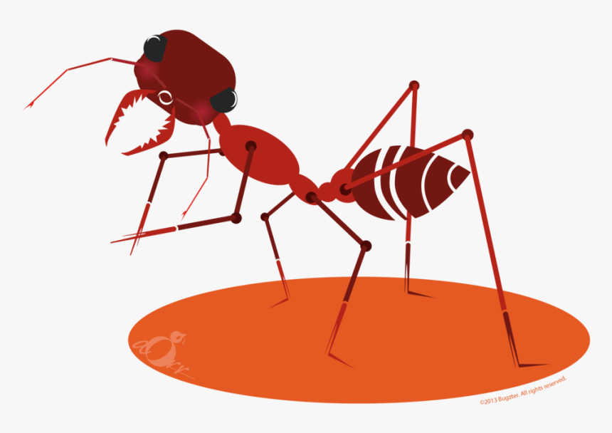 Picnic Basket With Ants Clip Art - Cartoon, HD Png Download, Free Download