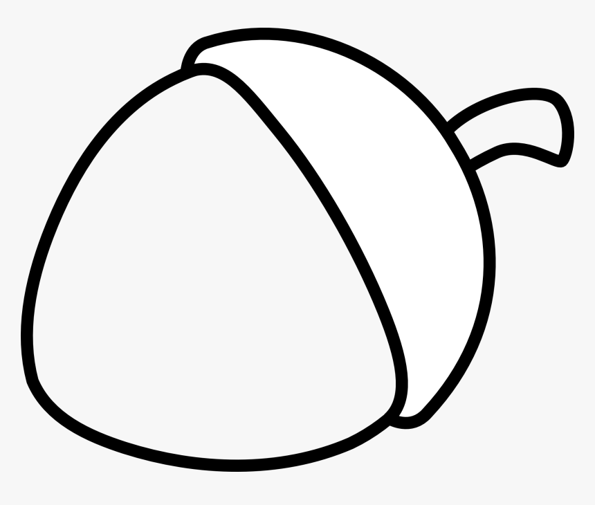 Acorn Coloring Page, HD Png Download, Free Download