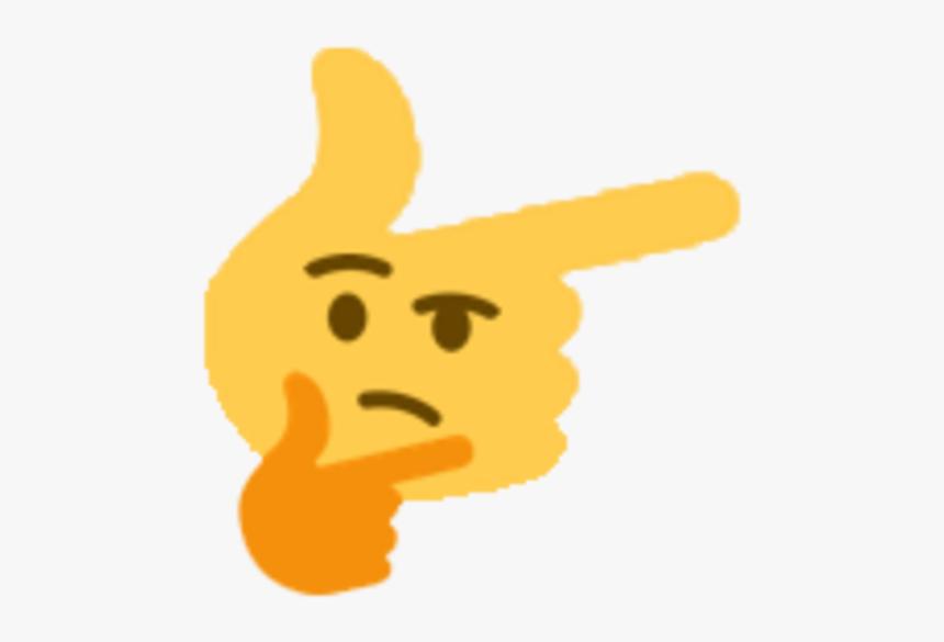 Thinking Emoji Meme, HD Png Download, Free Download