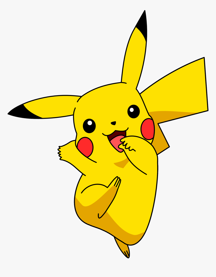 Pikachu Png Vector, Transparent Png, Free Download