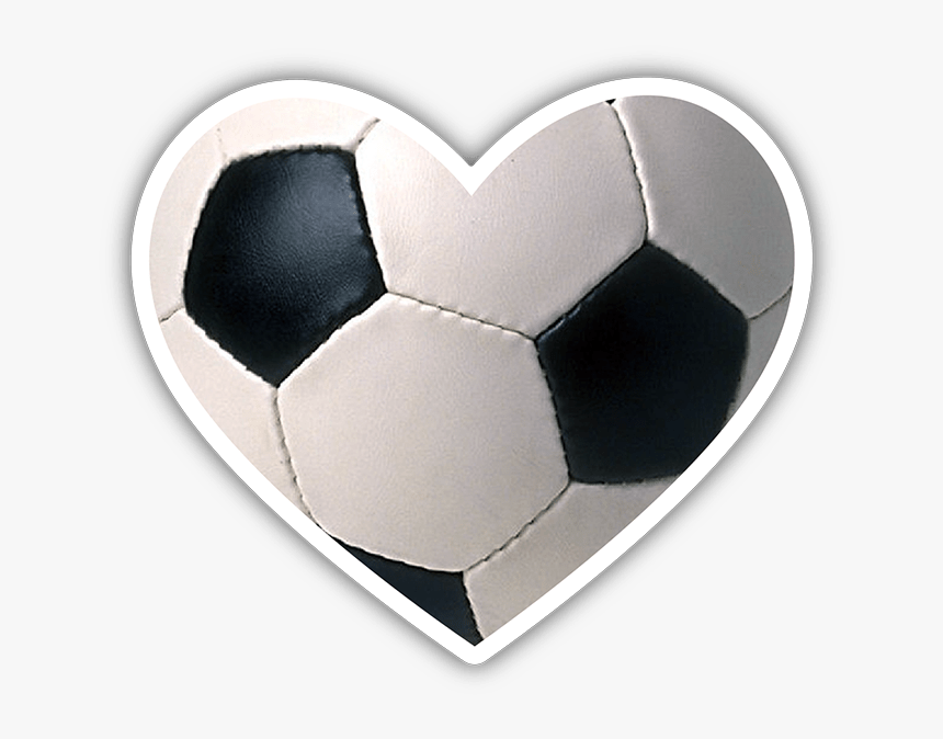 Soccer Ball Heart Png, Transparent Png, Free Download
